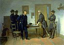 Alonzo Chappel - Lee Surrendering to Grant at Appomattox - 1981.139 - Smithsonian American Art Museum.jpg