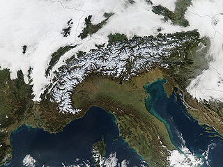 Geography of the Alps