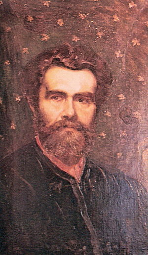 Francesco Saverio Altamura - Self-portrait