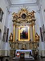 Altar of Saint Francis church in Warsaw - 10.jpg