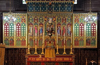 Church of Saint John the Baptist, Liverpool - Image: Altar of St John, Tuebrook