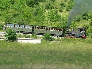 Schneeberg Railway - Image: Alte Dampflok 1