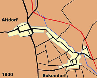 Alteckendorf - Alteckendorf in 1900