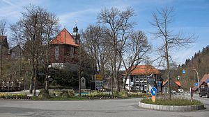Altenau, Lower Saxony - Image: Altenau Zentrum