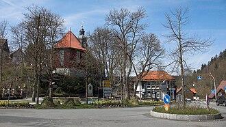 Altenau, Lower Saxony - Image: Altenau Zentrum