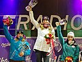 Altenmarkt-Zauchensee 2011 Downhill Prize Giving Ceremony.jpg