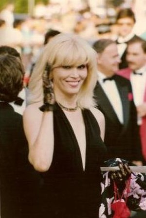 Amanda Lear - Amanda Lear at the Cannes Film Festival in 1990