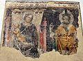 Ambito di vitale da bologna, madonna in trono col bambino e santo vescovo, 1360-65 ca., da s.m. maddalena.jpg