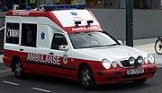 Ambulanse Oslo Akershus 18jun2005