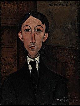 Amedeo Modigliani - Buste de Manuel Humbert