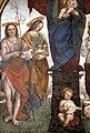 Amico aspertini, madonna col bambino e santi, 1508-09, 02 battista e agata.jpg