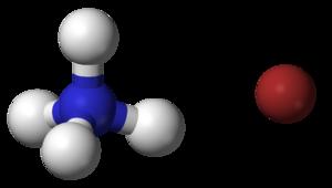 Ammonium bromide - Image: Ammonium bromide 3D balls
