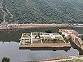 An Aerial View of the Historic Kesar Kyari Garden on the Manmade Island in Maotha Lake.jpg