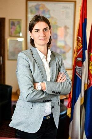 Ana Brnabić - Image: Ana Brnabić