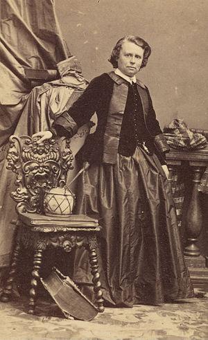 Rosa Bonheur - Photograph of Rosa Bonheur by André Adolphe-Eugène Disdéri, c. 1863