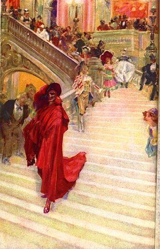 The Phantom of the Opera - Image: André Castaigne Fantôme Opéra 1