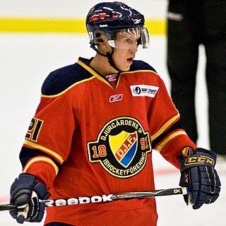Andreas Engqvist Swedish ice hockey player