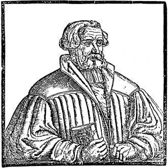 Andreas Karlstadt - Andreas Bodenstein von Karlstadt, portrait 1541/42