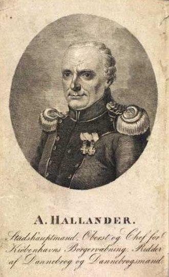 Andreas Hallander - Andreas Hallander (1820s)