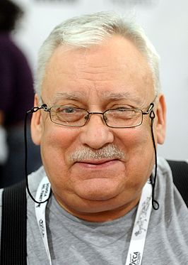 Andrzej Sapkowski op Lucca Comics and Games in 2015.