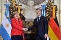 Angela Merkel and Mauricio Macri 03.jpg