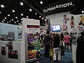 Anime Expo 2011 - Funimation booth (5917378707).jpg
