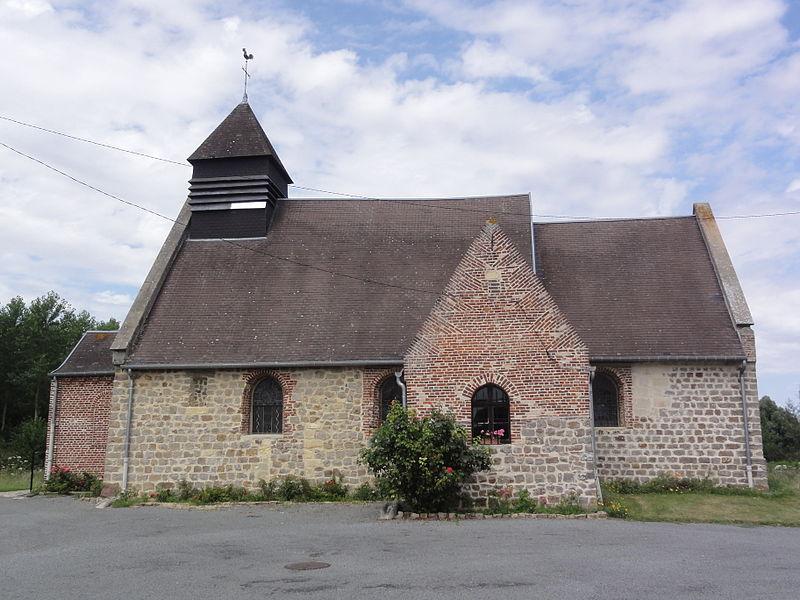 Annois (Aisne) église Saint-Martin