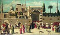 Anonymous Venetian orientalist painting, The Reception of the Ambassadors in Damascus', 1511, the Louvre.jpg