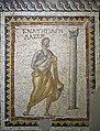 Antakya Archaeology Museum Sundial mosaic sept 2019 6124.jpg
