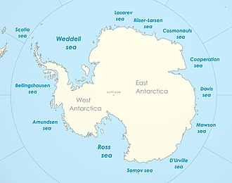 Weddell Sea - Weddell Sea, part of the Southern Ocean