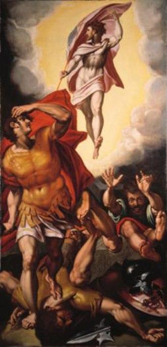 Anthonie Blocklandt van Montfoort - Image: Anthonie van Blocklandt De opstanding van Christus