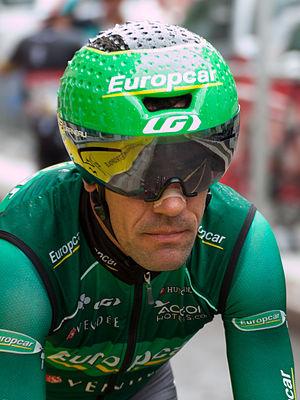 Anthony Charteau - Charteau at the 2012 Critérium du Dauphiné