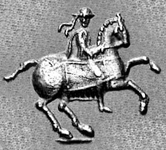 Antimachus II - Antimachus II on horse. Antimachus did not issue portraits.