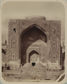 Antiquities of Samarkand. Madrasah of Nadir Divan-Begi, Congregational Mosque (Friday Mosque). Entrance to the Mosque WDL3789.png