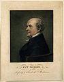 Antoine, Baron Dubois. Coloured line engraving by J. L. Potr Wellcome V0001676.jpg