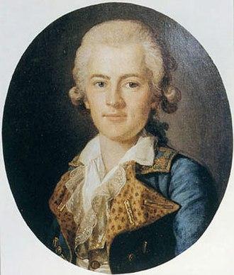 Antoine Bournonville - Antoine Bournonville by Per Krafft the Elder