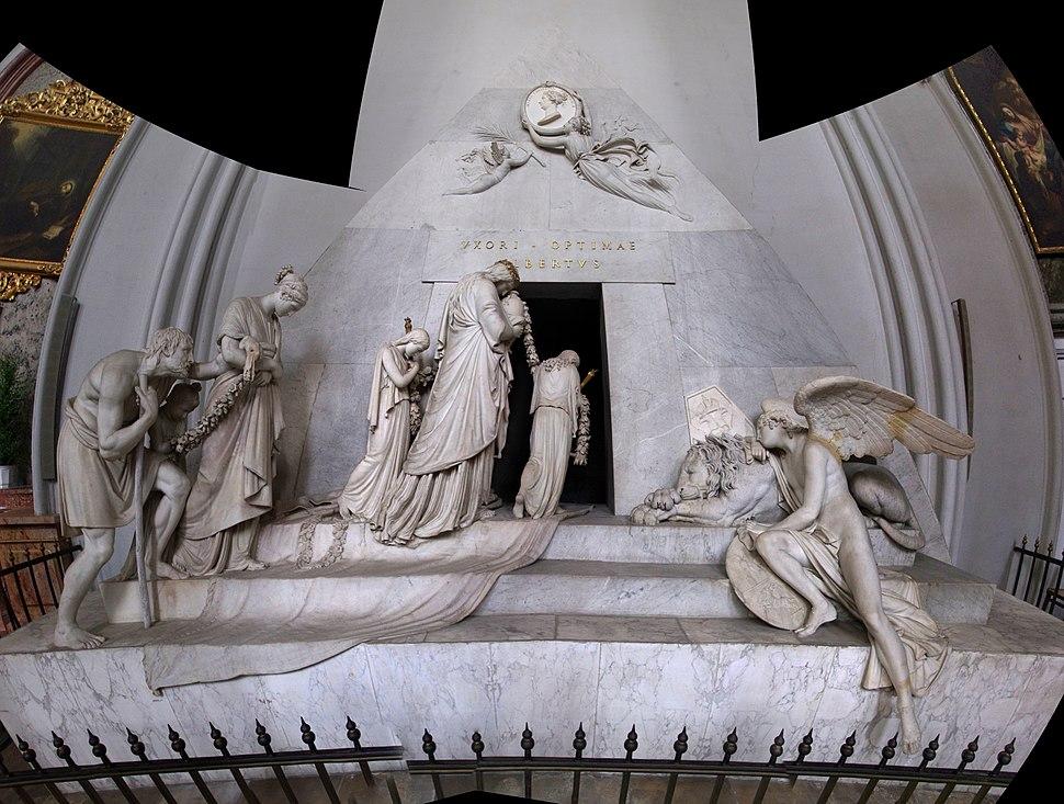 Antonio Canova Cenotaph of Archduchess Maria Christina Augustinerkirche (Wien) panoramic sculpture Austria 2014 photo Paolo Villa August FOTO8412 - FOTO8425auto