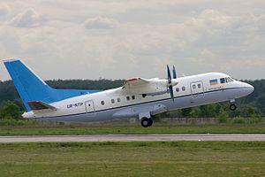 Azerbaijan Airlines Flight 217 - Image: Antonov An 140, Antonov Design Bureau AN1180747