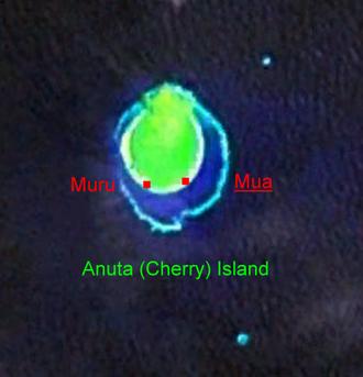Anuta - NASA Satellite Image Geocover 2000