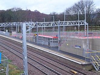 Apperley Bridge railway station - Platform 1 (Leeds bound)