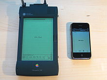 Der Grossvater Des IPhone Das Newton MessagePad