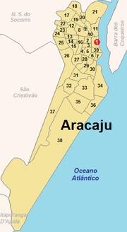 Aracaju Bairros Numerados.png