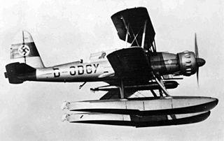 Arado Ar 95 1937 reconnaissance floatplane by Arado
