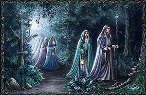 Resultado de imagen de aparición de los Elfos de la Tierra Media