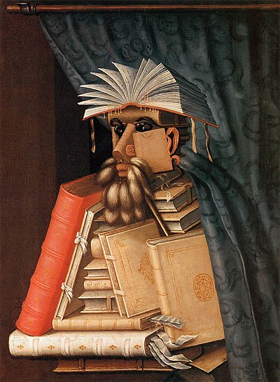 Giuseppe Arcimboldo: The Librarian