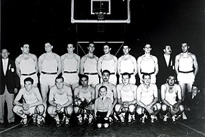 1950 FIBA World Championship - The Argentina squad that won their first World championship.