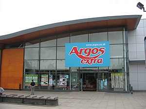 Argos (retailer) - Argos Extra store in Cambridge in 2008, The 'Extra' brand was phased out in 2010.