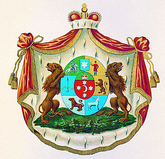 House of Yusupov - Yusupov family coat of arms (1799)
