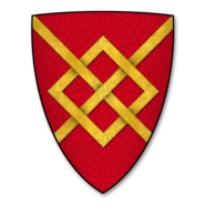 Armorial Bearings of the AUDLEY family of Much Marcle, Herefordshire