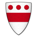 Armorial Bearings of the DEVEREUX (Viscount Hereford) family of Weobley, Herefs.png